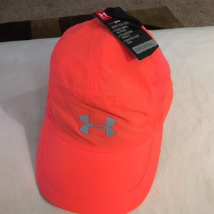 Under Armour Womens Heatgear Running Cap Orange